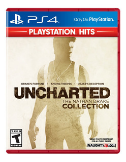 Uncharted The Nathan Drake Collection Para Ps4, Start Games