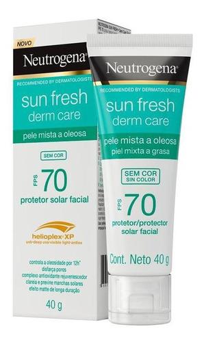 Protetor Solar Neutrogena Pele Oleosa Fps70 40g