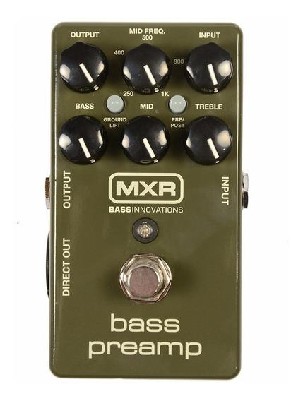 Pedal Mxr M 81 Bass Pre Amp