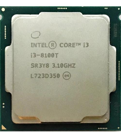 Processador I3 8100t 3.1ghz Lga 1151 4 Núcleos 6mb O&m