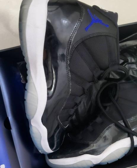 Tenis Air Jordan Xi - Space Jam 41 Na Caixa.