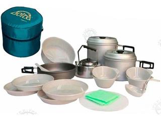 Marmita Set De Cocina Para Camping De Doite Para 4 Personas°