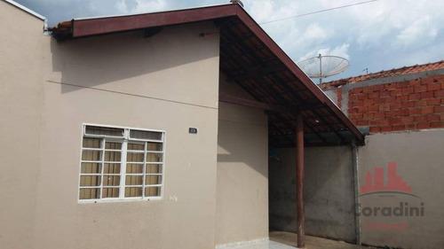 Casa Com 3 Dormitórios À Venda, 120 M² Por R$ 270.000,00 - Jardim Campos Verdes - Nova Odessa/sp - Ca2789