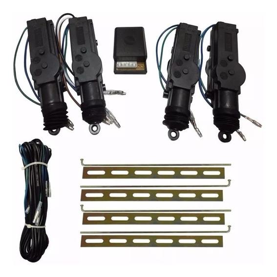Kit Trava Elétrica Universal 4 Portas Isoflex