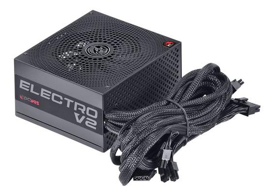 Fonte Atx 750w 80 Plus Bronze Pcyes Elecv2pto750w-b Electro