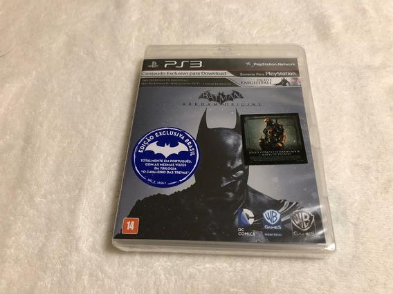 Batman Arkham Origins + Pacote Knightfall - Lacrado