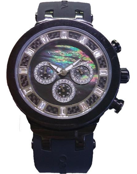 Relógio Victor Hugo Mostrador Madrepérola - Vh10059gsb/30
