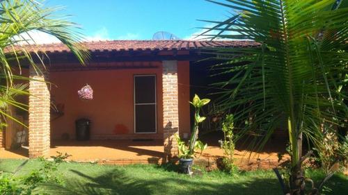 Chácara Com 3 Dormitórios À Venda, 1200 M² Por R$ 370.000,00 - Zona Rural - Arealva/sp - Ch0095