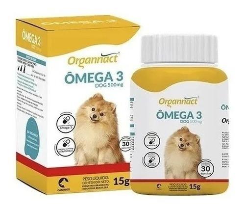 Imagem 1 de 3 de Omega 3 Dog 500mg - Organnact