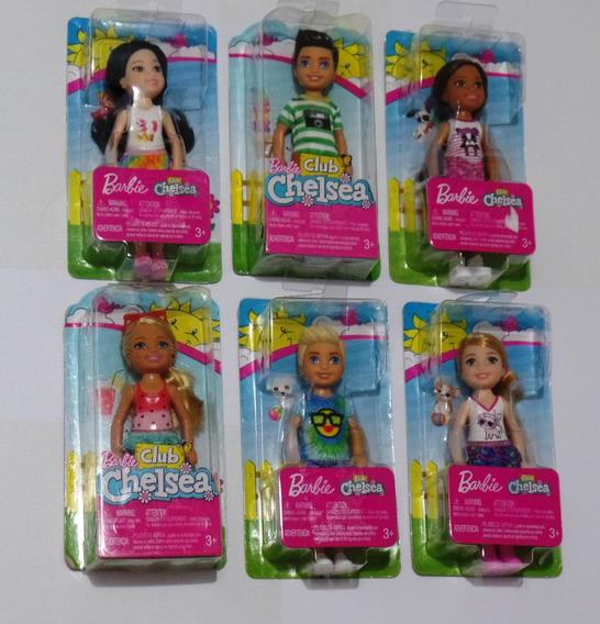 Barbie Club Chelsea Menino Ou Menina Mattel Vlr Unitário