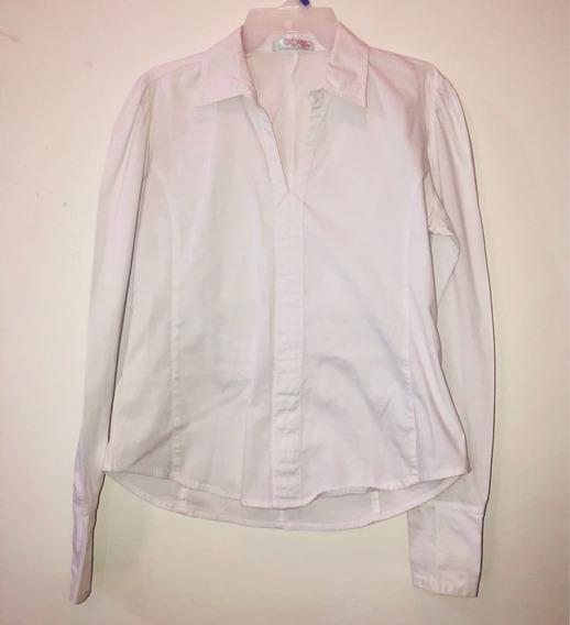 Camisa Para Dama Blanca Talla M Marca Cklass Usada