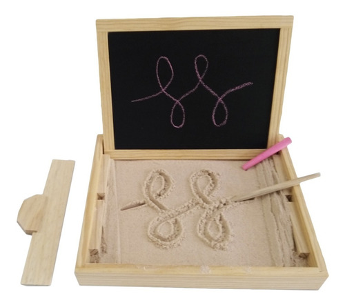 Imagen 1 de 7 de Ingeniacrea My Little Sand Box Juguete Didactico Pizarrón