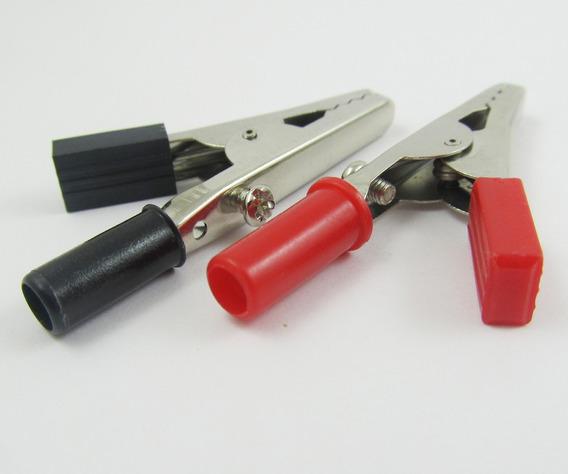 Clip Presilha Jacare 2 Un Positivo Negativo 55mm
