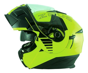 Capacete 3020 Fluor Yellow/ab12 Cruiser Blk