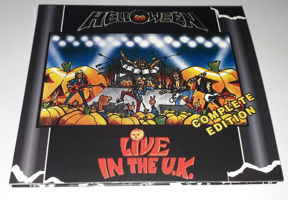 Helloween - Live In The Uk Complete Edition (2cd) Lacrado