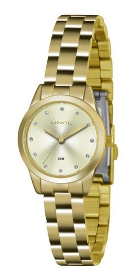 Relógio Feminino Lince Lrg4435l Analógico Quartz Casual