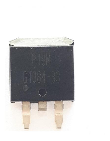 G1084 33 Reg. 3,3v To 252 Smd (pequeno) Original,pronta Ent.