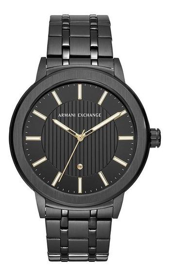 Relógio Masculino Armani Exchange Maddox Preto - Original