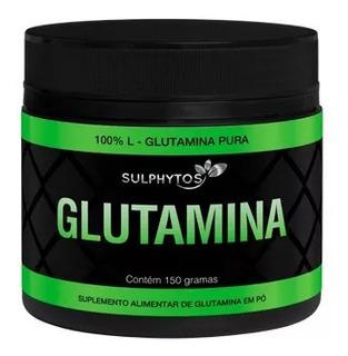 Glutamina Suplemento Para Ganho De Massa 150g 100% Pura
