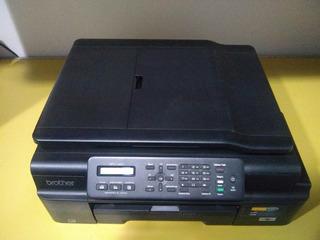 Impresora Multifuncion Color Brother Mfc-j200 - Wifi - Fax