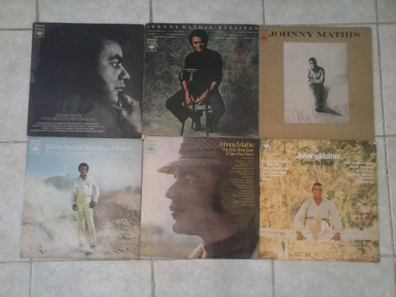 Johnny Mathis 9 Lp´s Por 98,00