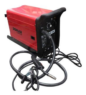 Máquina De Solda Mig/mag 160 Amperes 220 V Msm160 Somar