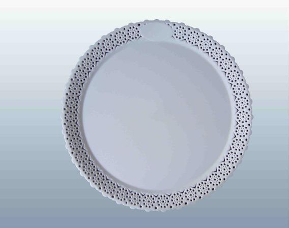 Bandeja Reposteria Para Torta 24cm. X 10un. Blanca