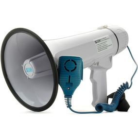 Megafone Csr Hmp1503 Com Sirene E Microfone   Envio Imediato