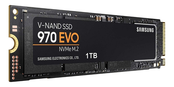 Ssd M.2 Samsung 1tb 970 Evo Nvme 3400mb/s Pc Notebook