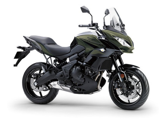 Kawasaki Versys 650 0km Verde Militar 2020 No Corven Touring