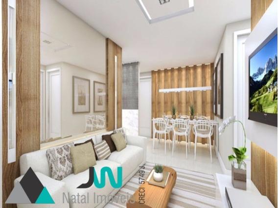 Condomínio Ecogarden Ponta Negra - Venda De Apartamento Giardino, Com 2 Quartos, Pronto Para Morar E A 5 Minutos Da Praia - Ap00005 - 2521996