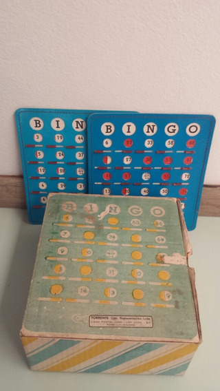 Antiguidade Rara Jogo De Bingo
