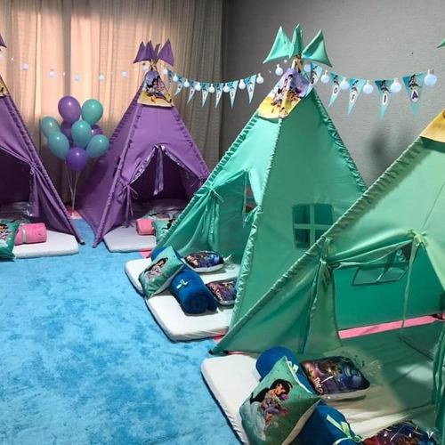 Imagem 1 de 4 de Locação De Cabanas Para Festa Do Pijama