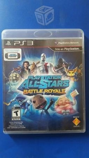 Playstation All Stars Battle Royale Ps3 Cd