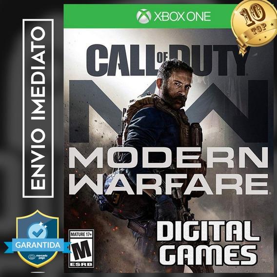 Call Of Duty: Modern Warfare - Xbox One - Digital - Conta Co