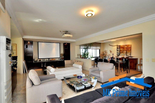 Imagem 1 de 15 de Apartamento No Paraíso Do Morumbi Com 336m² - 1862