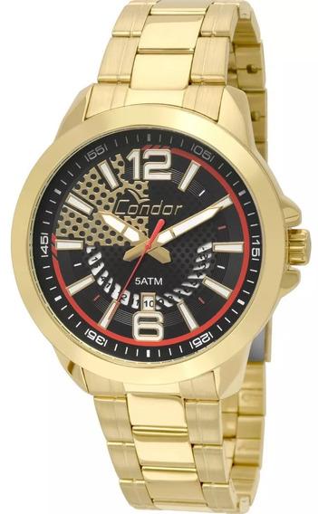 Relógio Condor Masculino Dourado - Co2115xh4p