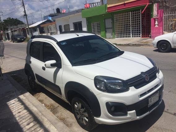 Fiat, Uno Way, Blanco, 5 Puertas