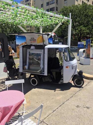 Motofurgon Mini Food Truck