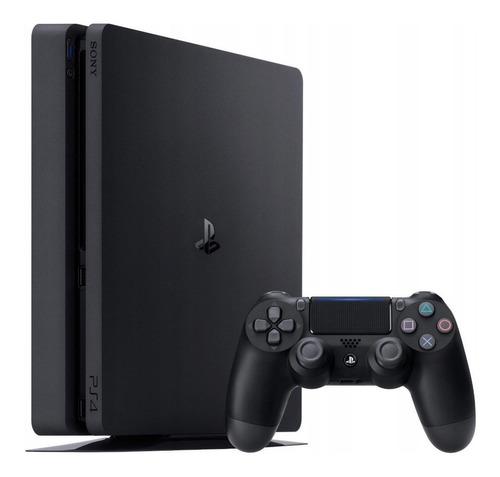 Imagem 1 de 2 de Sony PlayStation 4 1TB Standard cor  preto onyx