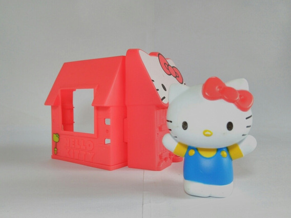 Boneca Hello Kitty Com Casinha Mc Donalds