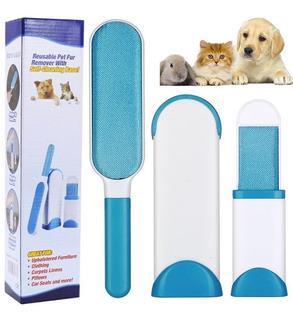 Saca Pelusa Cepillo Quita Pelos Mascotas Perro Gato Portatil
