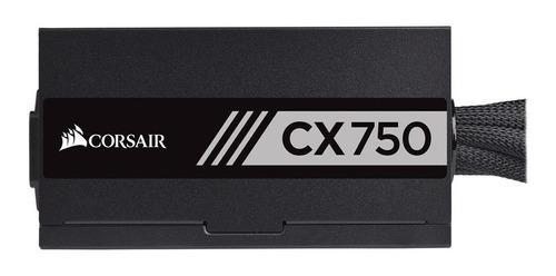 Imagen 1 de 5 de Fuente de poder Corsair CX-M Series CX750 750W black 100V/240V