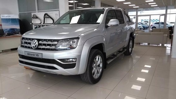 Okm Volkswagen Amarok 3.0 V6 Highline 4x4 At 2019 Alra Vw 17