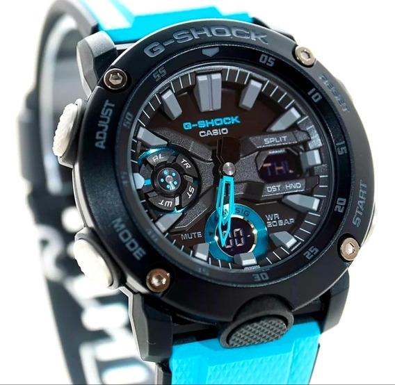 Relógio G-shock Ga-2000-1a2dr Carbono Original Certificado.
