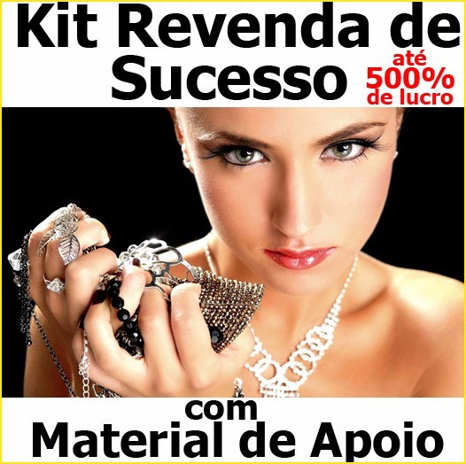 Kit Semi-joias Femininos Lote Sortido Preço De Atacado