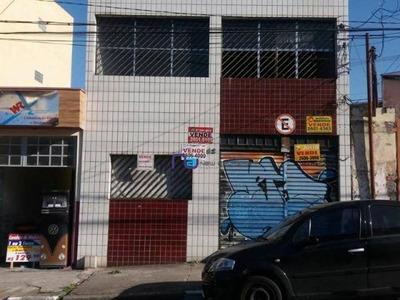 Galpão Comercial À Venda, Vila Regente Feijó, São Paulo. - Ga0441