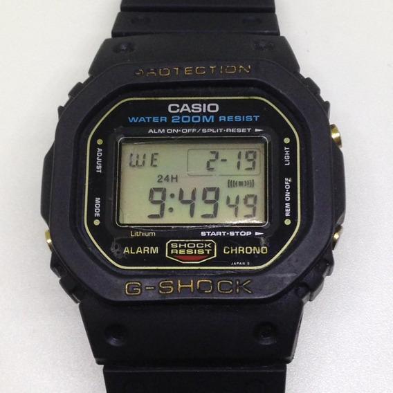 Relógio Casio Gshock Dw5200 Fundo De Rosca U02625 Webclock