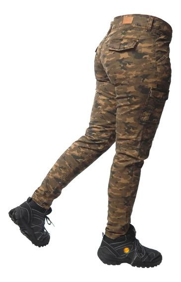Pntalon Cargo Camuflado Mujer - Jeans710
