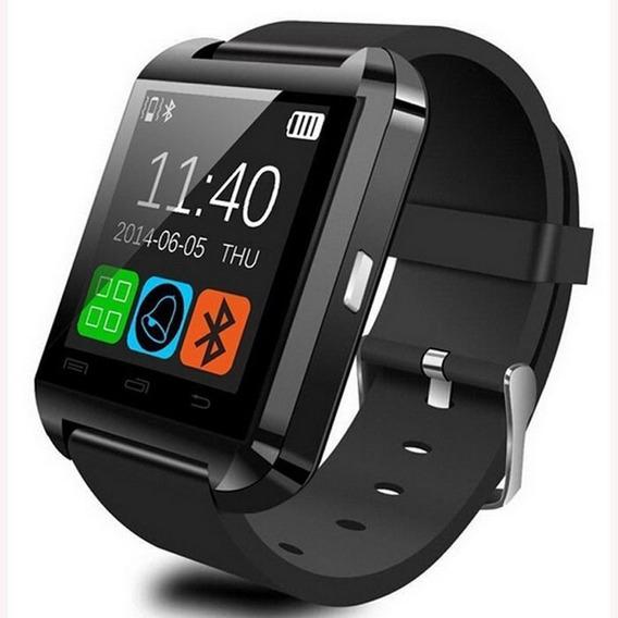 Bluetooth Smart Watch Para Android - Preto